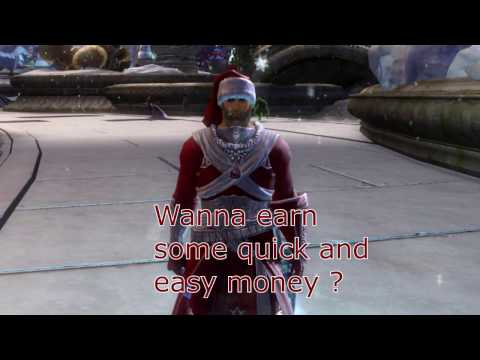 Guild Wars 2  - Quick & Easy Money - Jumping Wintersday *** 20 GOLD PER HOUR ***