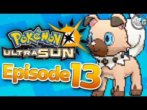 Rockruff Event! - Pokemon Ultra Sun and Moon Gameplay - Episode 13