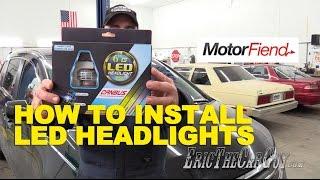 How To Install Led Headlights 2012 Honda Odyssey Ericthecarguy