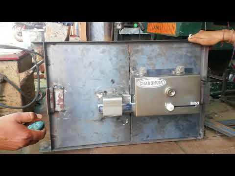 Home door lock system fully automatic