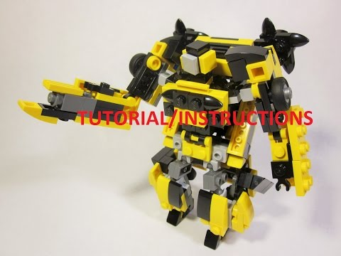 (TUTORIAL/INSTRUCTIONS) Lego Transformers Age of Extinction- Bumblebee