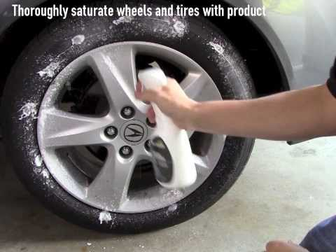 How to Clean Wheels and Tires with Eco Touch | Brake Dust Cleaner