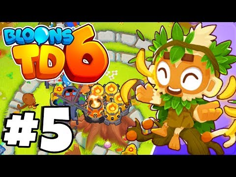 HOW TO MAKE SO MUCH MONKEY MONEY! - Bloons Tower Defense 6 Part 5 (BTD 6 IOS/Android)