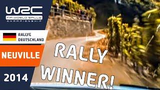 Onboard Thierry Neuville SS17/ ADAC Rallye Deutschland 2014