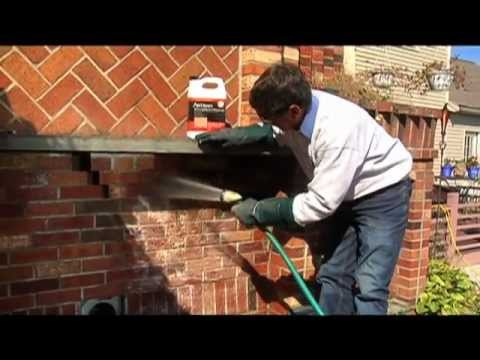 Cleaning Brick and Stone - Outdoor HowTo From Home Work With Hank