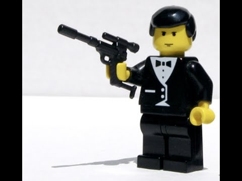 Day in the Life of a Spy (LEGO Stop-Motion)