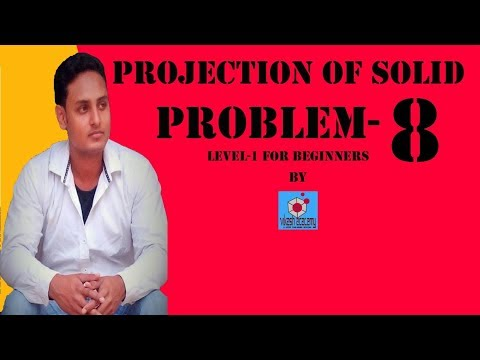 Projection of solid problem-8