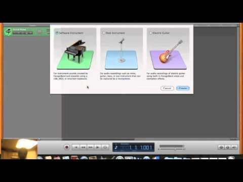 GarageBand Tutorial for Beginners (Part 1 of 3)