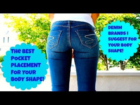 The BEST Pocket Placement/Jeans for Your Body Shape | Jalisa's Fashion Files