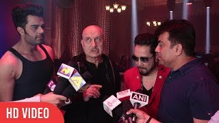 Baa Baaa Black Sheep Cast Media Interaction | Anupam Kher, Manish Paul, Mika Singh | ONLOCATION