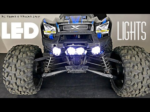 Traxxas X-MAXX LED Lights - Super Bright & Easy To Install