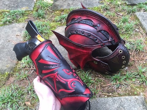 Review: Custom Nerf Leatherstorm  Holster (Art meets Function)