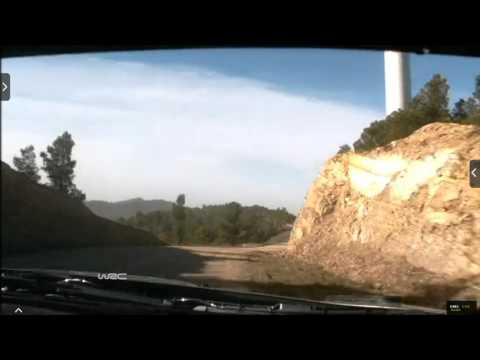 Onboard Kubica rally Catalunya-costa Daurada ss2 2015