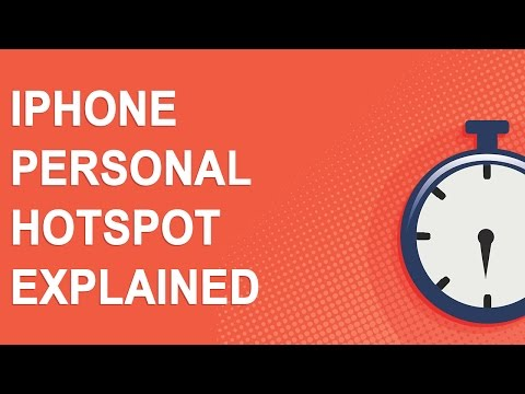 iPhone Personal Hotspot Explained