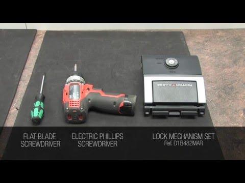 lock change SH48 - SH49 - SH50