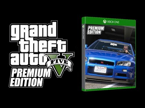 GRAND THEFT AUTO V: PREMIUM EDITION!!! (This is what is is...)