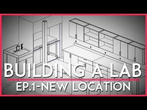 Building a Lab: New Location! (episode 1)