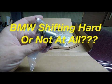 BMW E36 E39 GM 4l30E Transmission Fluid Filter And Shift Solenoid Change