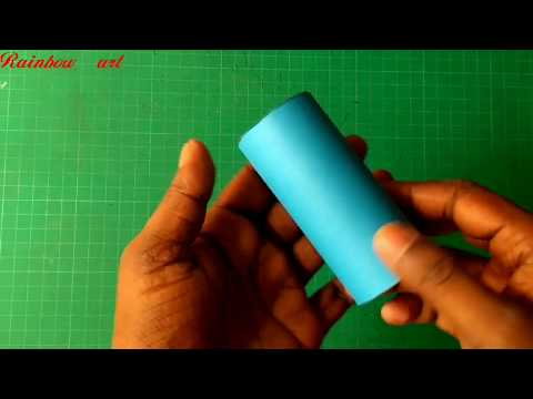 HOW TO make a 3d cylinder /geometric design/#papercuttingart