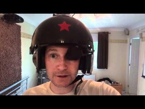 Real Helmet HUD for flying my paramotor