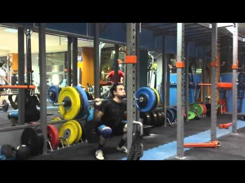 Squat 125kg x19