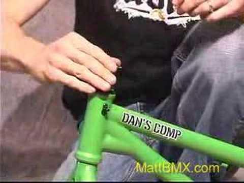 How to Build a BMX Bike Part 1