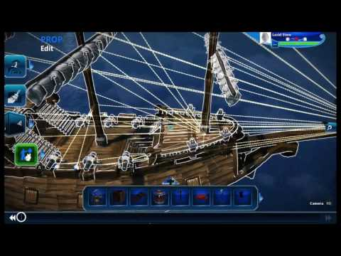 Sea of Thieves in Project Spark - Pirate Ship Model Complete