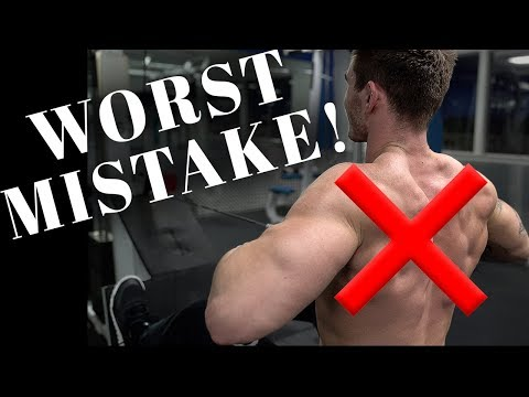The BIGGEST Back Training Mistake EVER!