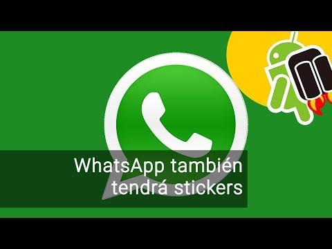 WhatsApp también tendrá stickers