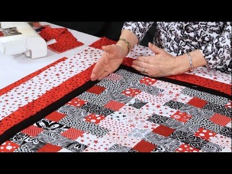 Adding Borders to your quilt with Valerie Nesbitt (taster video)