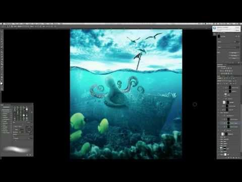 Create a Realistic Underwater Composite in Photoshop