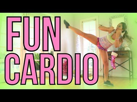 Fun Indoor Cardio Workout