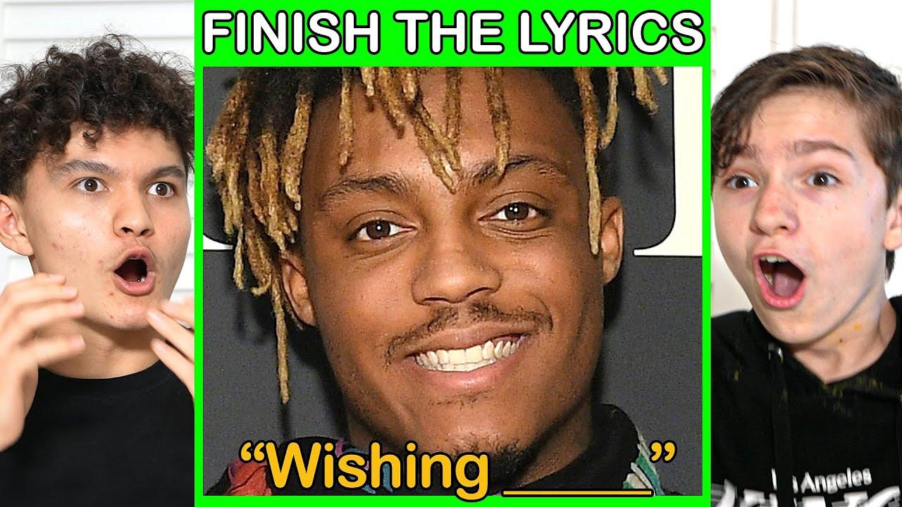 Finish The Lyrics, Win $1,000 (Rap Edition)