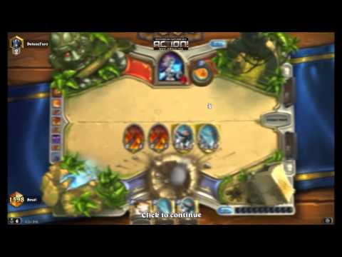 Tutorial/Gameplay: TempoWaker Deck   Hearthstone