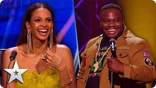 Unapologetically FUNNY! Nabil Abdulrashid has the Judges in STITCHES! | The Final | BGT 2020