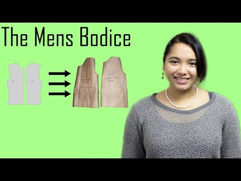 DIY - Basic Pattern Tutorial: The Mens Bodice