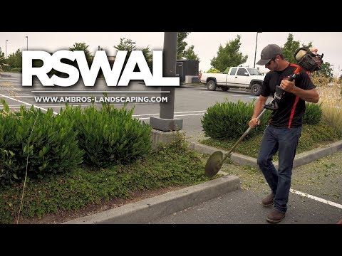 Trimming Ground Cover With A Weed Whacker? | RSWAL Ep. 33