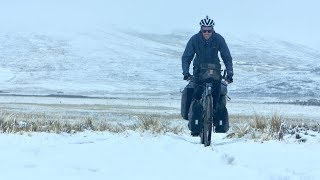 Snow Adventures In The Andes On My Touring Bike // CyclingAbout The Americas [EP.7]