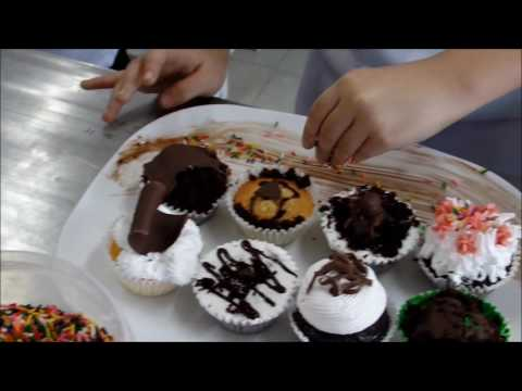 Cupcakes by Bread & Pastry Production Students