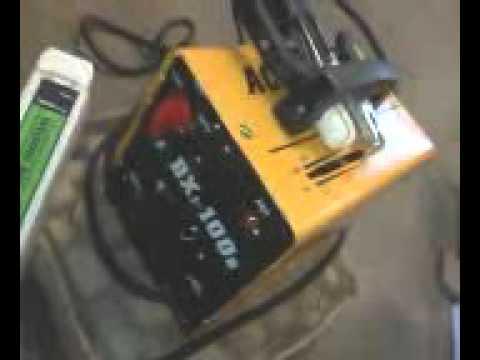 eBay stick welding machine .100amp-110/220volt. [VISUAL]