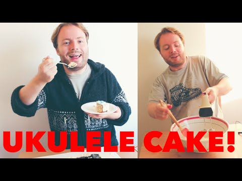 HOW TO MAKE A UKULELE CAKE!!!