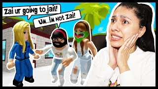 MY BEST FRIEND & I TRIED TO RUNAWAY BUT WE GOT CAUGHT BY THE COPS! - Roblox Roleplay