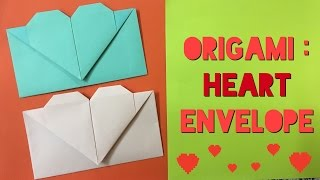 27 Inspired Image of Diy Origami Heart | Origami envelope heart ... | 180x320