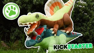 SPINOSAURUS & TRICERATOPS PLUSHES + GIVEAWAY! - Jungle Plush