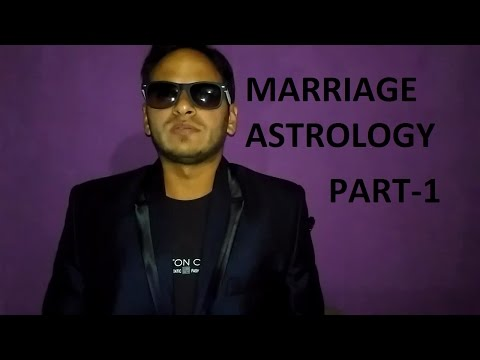 How to find marriage partner(marriage astrology) PART - 1 using horoscope