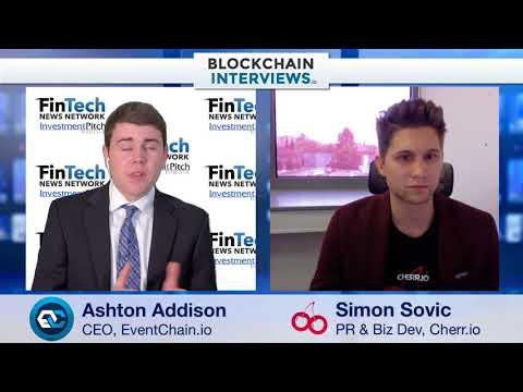 Blockchain Interviews - Cherr.io with Simon Sovic, Business Developer