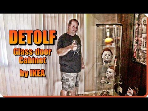 IKEA'S DETOLF GLASS-DOOR CABINET