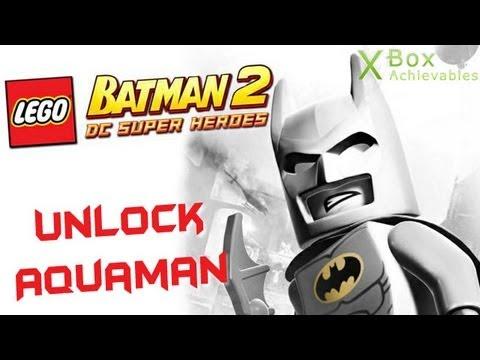 LEGO Batman 2 - How To Unlock Aquaman