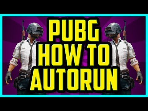 How To Autorun In PUBG 2018 PC (QUICK) - Playerunknown Battlegrounds Set Auto Run Hotkey