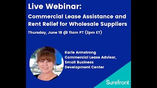 Commercial Lease Assistance Webinar (6-18-2020)